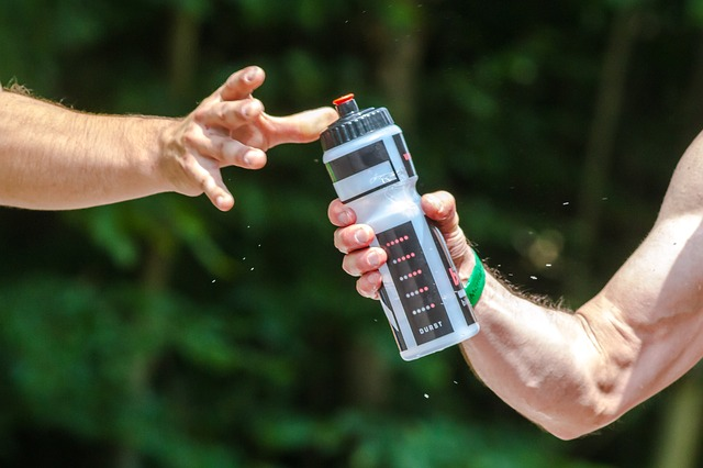 Dispensador de agua deporte