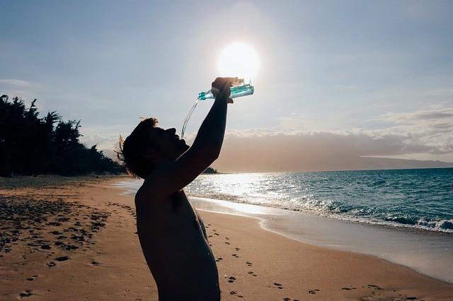 Agua tratada y deporte