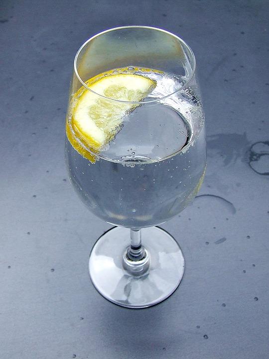 Agua refrescante
