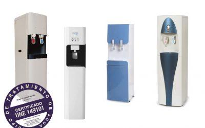 Fuentes de ósmosis vs dispensador de agua